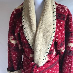 Super Soft & Warm Robe by TP Polizzi Saddleblanket